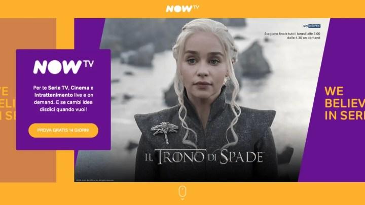 Now TV, arriva la funzione Download & Play