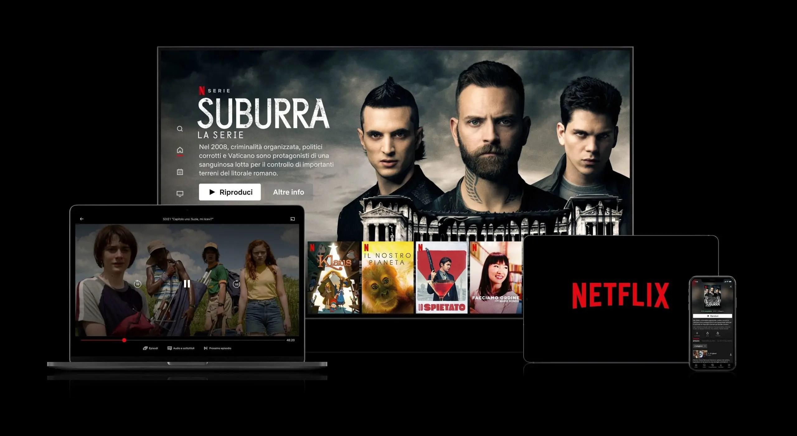 Netflix, aumento dei prezzi di abbonamento negli Usa