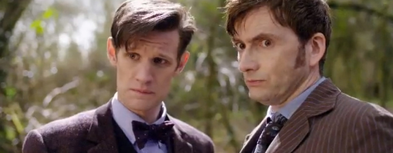 Doctor Who: 5 indizi dal trailer di The Day of the Doctor