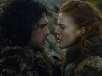Game Of-Thrones Couples jon ygritte