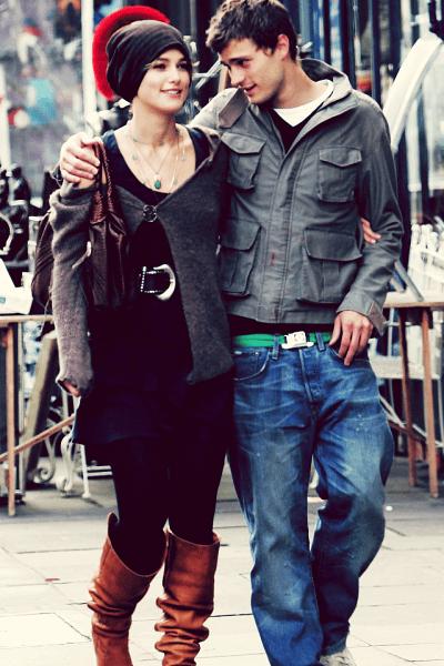 Keira Knightley e Jamie Dornan