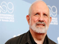 """Director Brian De Palma poses during the photocall of the movie """"Passion"""" at the 69th Venice Film Festival September 7, 2012. REUTERS/Tony Gentile"""
