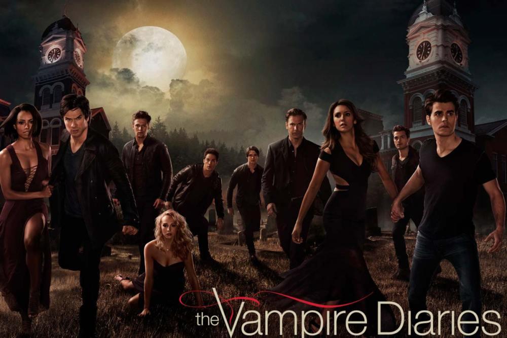the vampire diaries curiosità