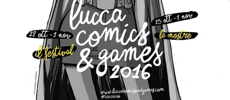 lucca comics and games 2016