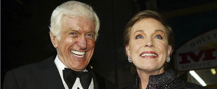 Dick Van Dyke e Julie Andrews oggi