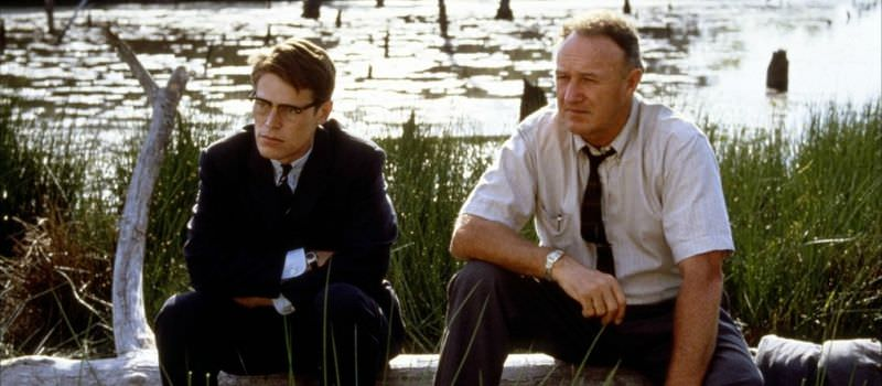 Willem Dafoe e Gene Hackman