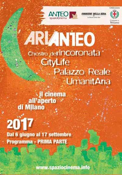 arianteo locandina 2017