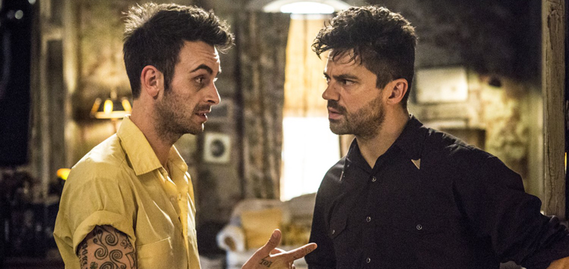 _Joseph Gilgun and Dominic Cooper in Preacher