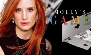 Molly's Game: il trailer al film diretto da Aaron Sorkin con Jessica Chastain