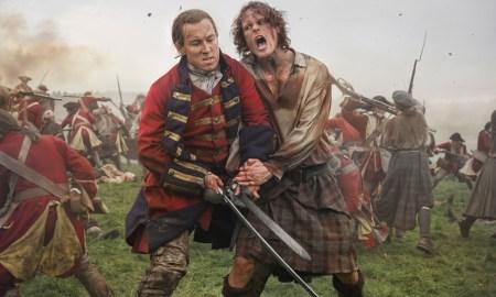 Outlander: Sam Heughan e Tobias Menzies