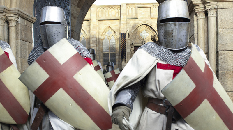 Knightfall libri sui templari