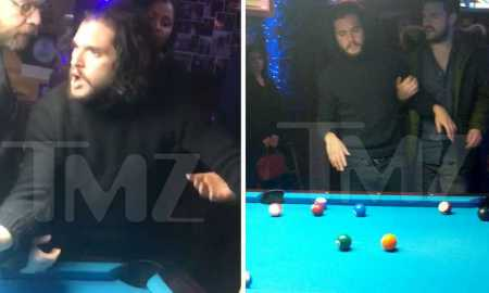 Kit Harington drunk