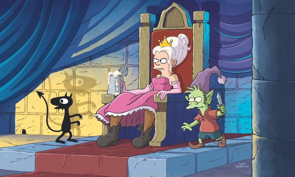 Disincanto: Le prime immagini della serie animata di Matt Groening