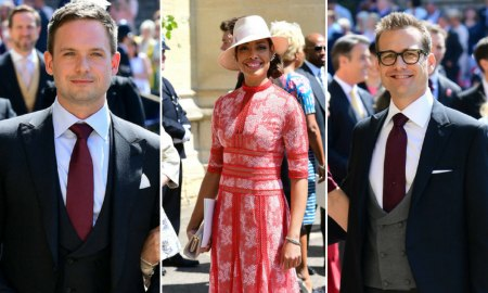 Royal Wedding - suits cast