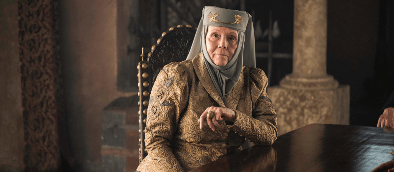 olenna tyrell personaggi game of thrones