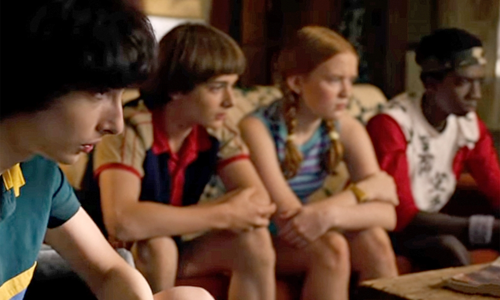 Stranger Things - Una scena della serie TV