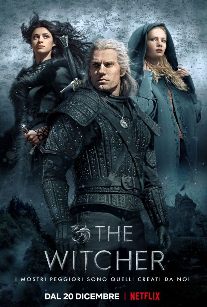 The Witcher Netflix Locandina