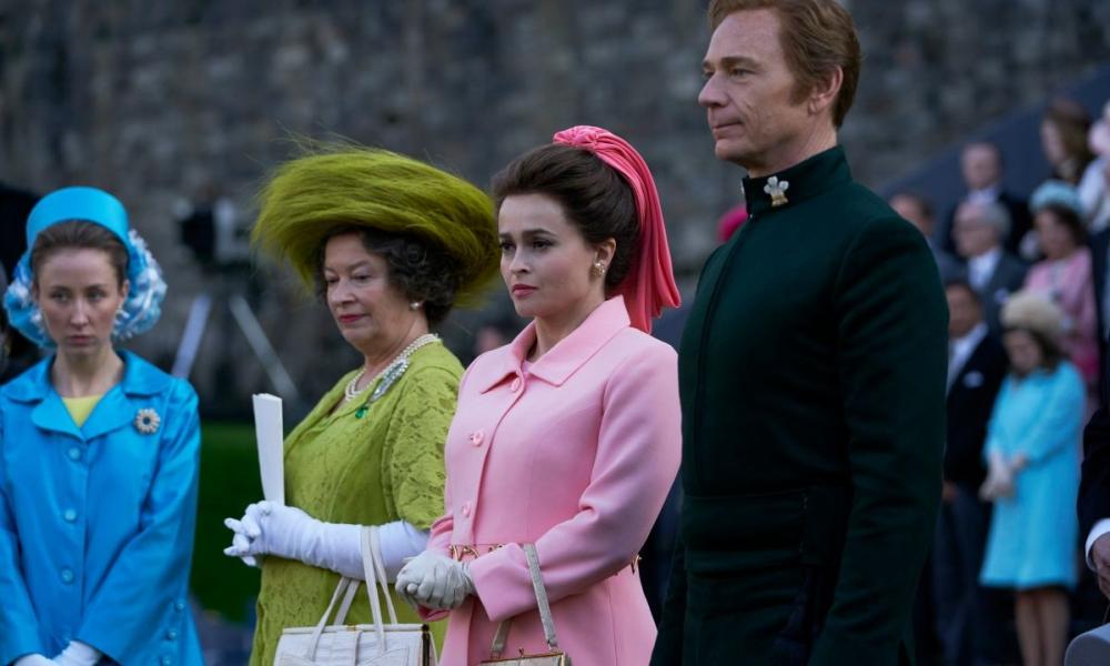 The Crown 3 - Una scena della serie TV