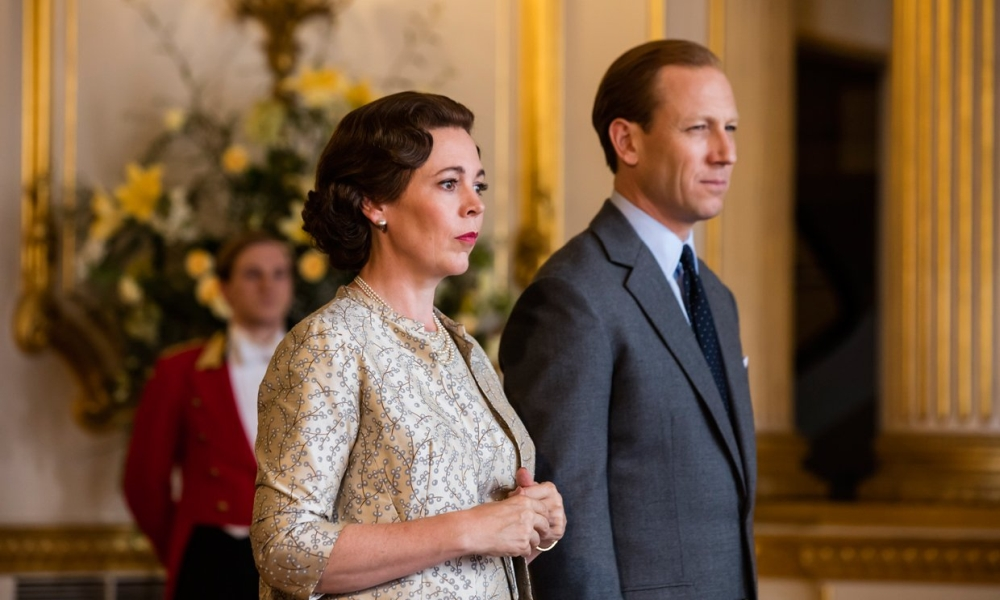 The Crown 3 - Olivia Colman e Tobias Menzies