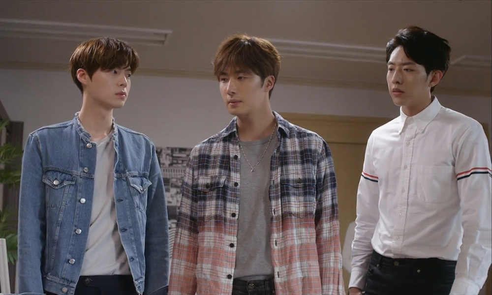 I tre cugini Kang di Cinderella and the Four Knights