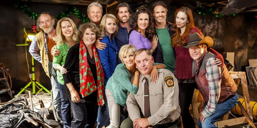 Il cast di Cedar Cove