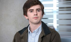 Freddie Highmore the good doctor