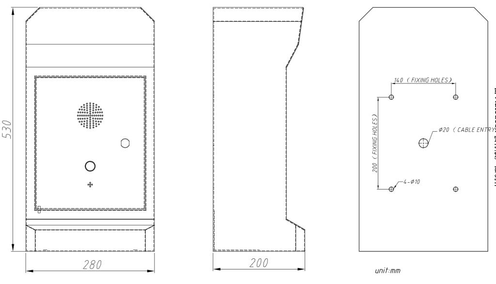 Drawing JR330-SC Torre SOS Vozell
