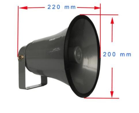 Bocina para telefono industrial JR103-FK