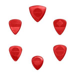 Variety-Guitar-Picks-Red