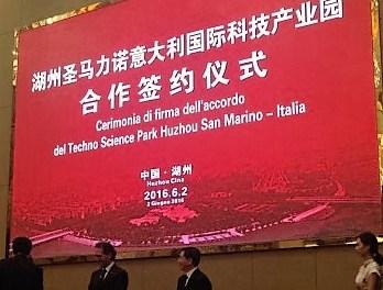 Nuove opportunità per le imprese e un Parco tecnologico internazionale: accordi Italia-Cina al Techno Science Park di San Marino. Anche il Sant'Anna a Pisa firma accordo con la Cina