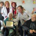 Nonna Lidia, centenaria di Anzio