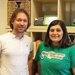 Cristian Scardigno e  Marianna Cozzuto
