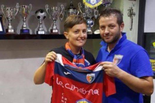 Giulia Bonci con mister Cibelli 2 (1)