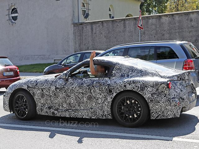 Fotografohet modeli Supra nga Toyota derisa ishte ne fazen e testimit foto 3