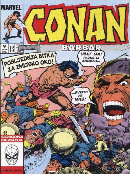 Strip u bivšoj Jugoslaviji Conan
