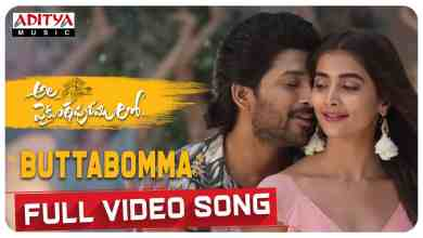 Photo of Ala Vaikunthapurramloo – Butta Bomma Full Video Song Download