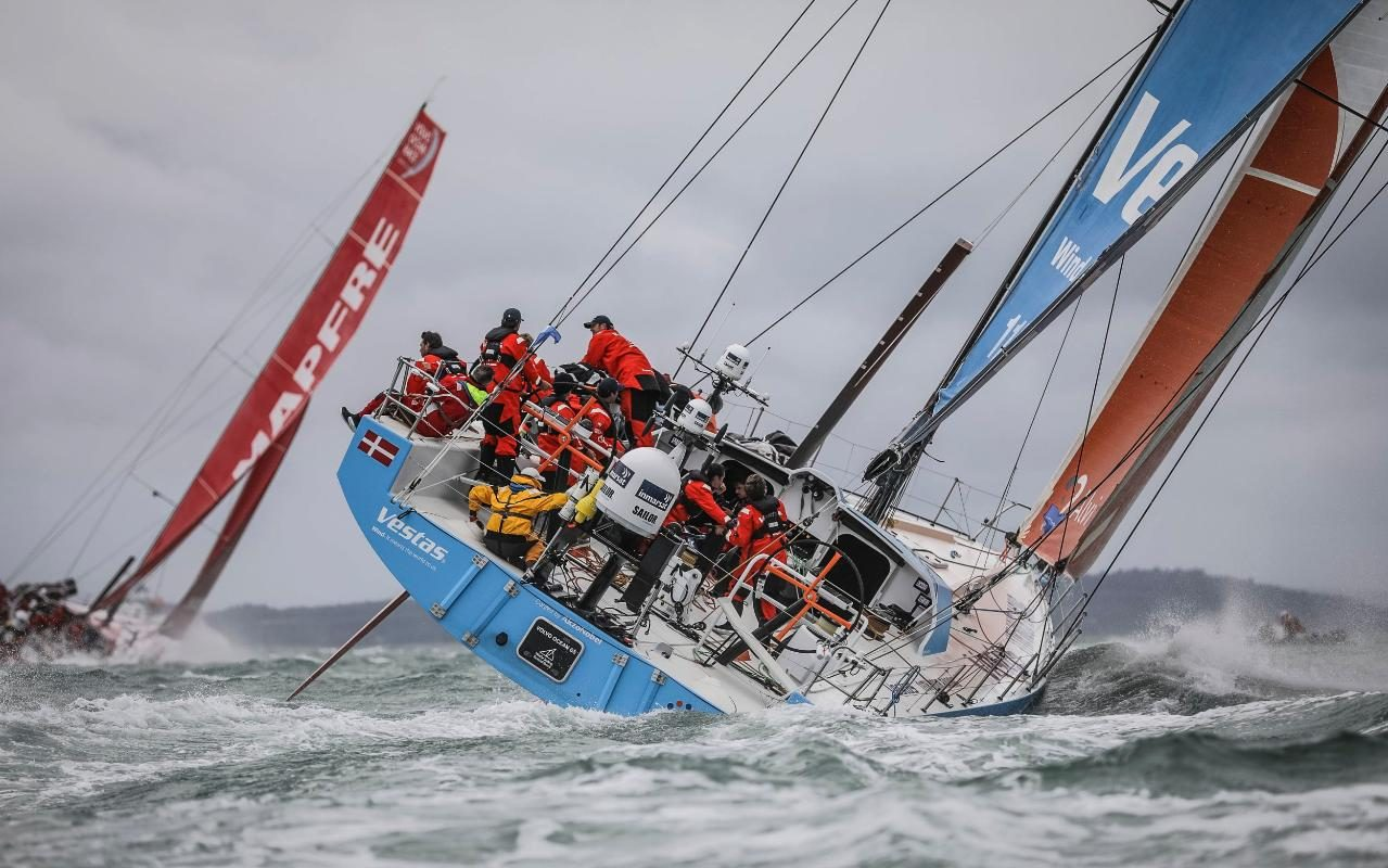 Volvo VO65 Racing Yacht Review