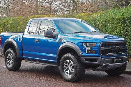 The Ford F 150 Raptor Rhd Conversion Is Visually Striking And Very Diffe To What You Normally See On British Roads
