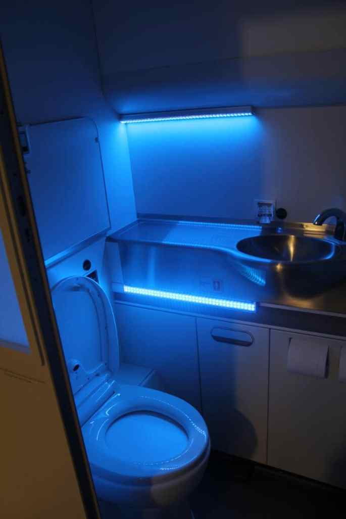 Boeing's Clean Cabin Lavatory