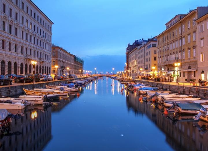 """Trieste was now one of my favourite cities"""