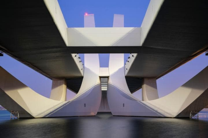 Sheikh Zayed Bridge, Abu Dhabi (2010)