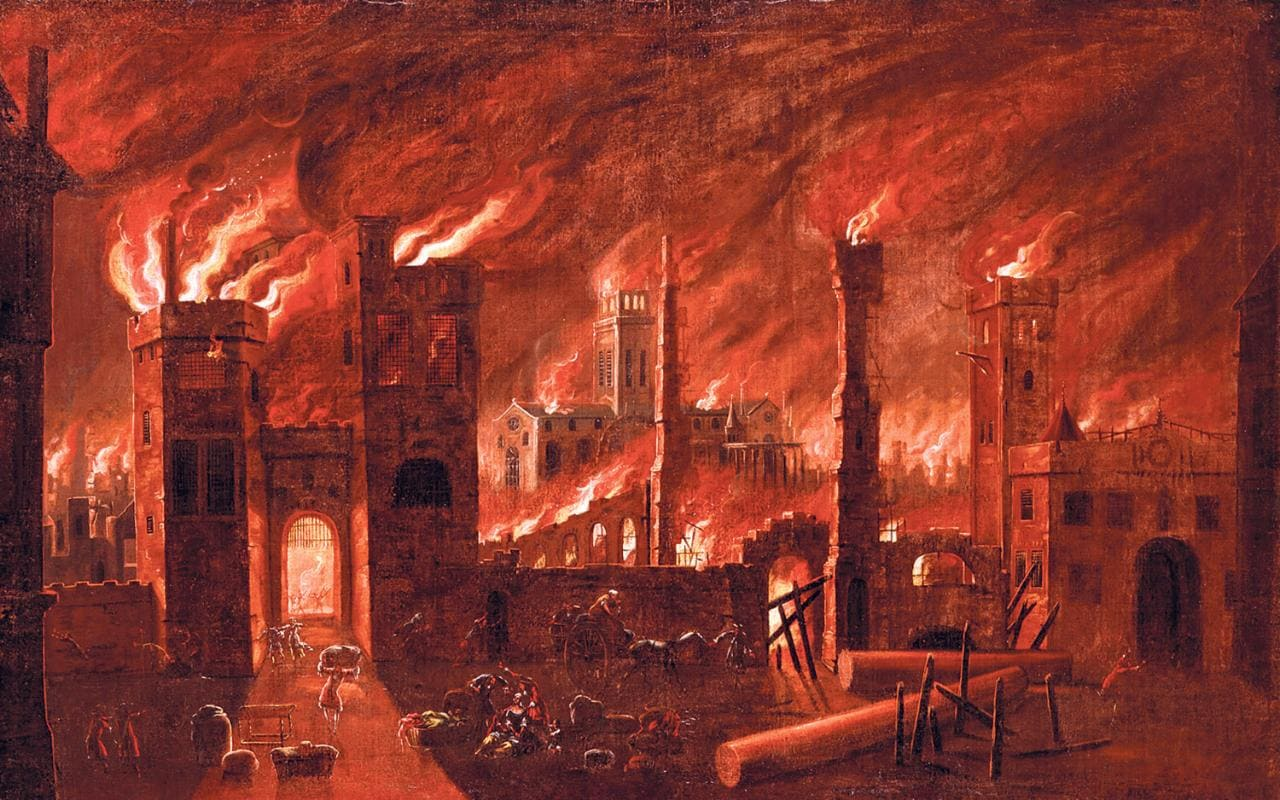 The Great Fire Of London Remembered 350 Years On