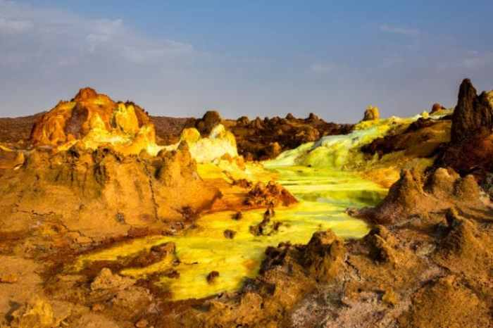 Ethiopia's Danakil Depression is one of the hottest places on the planet