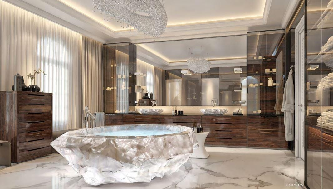 Inside The Dubai Holiday Villa With A 1m Bathtub
