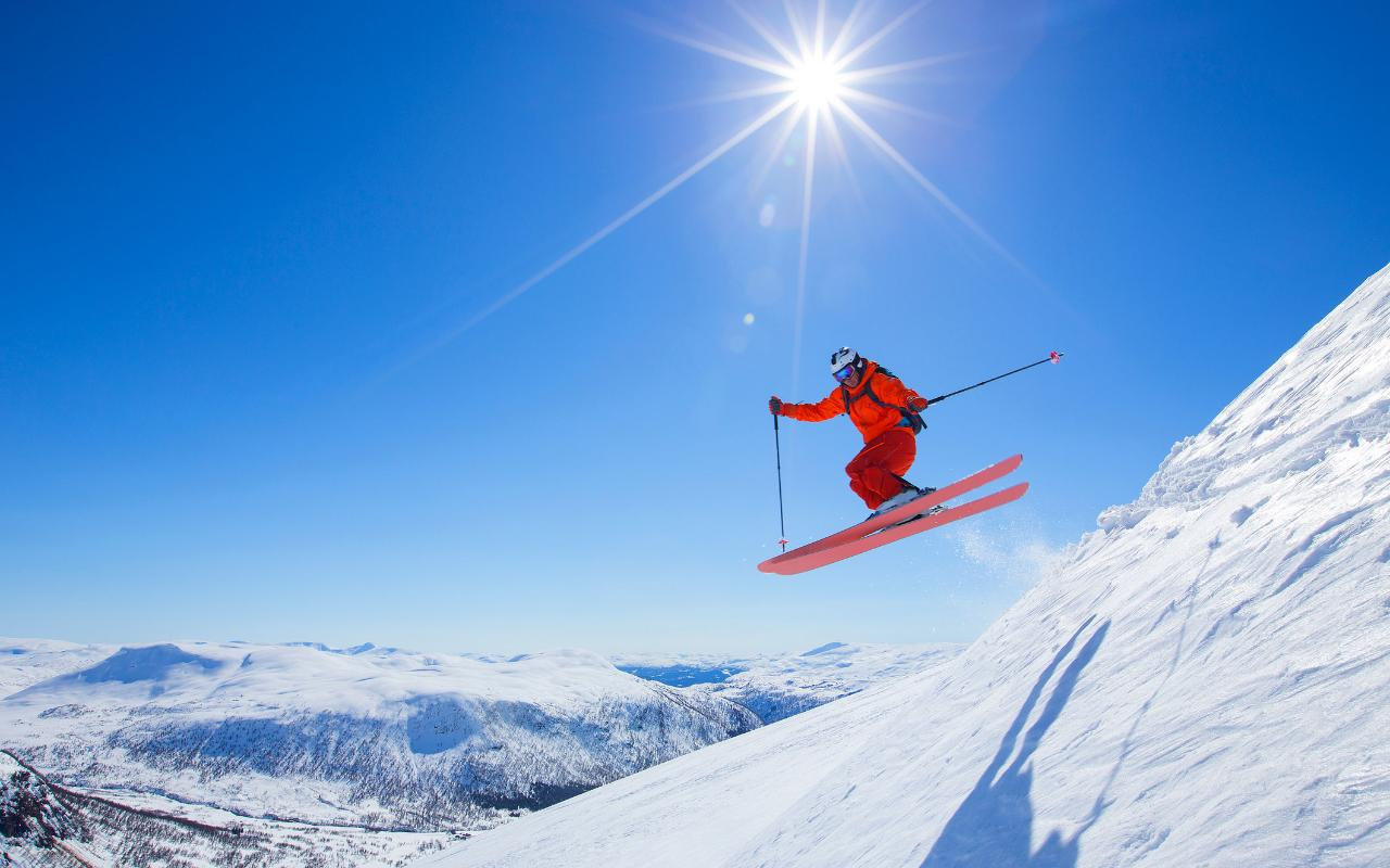 Is It Possible For A Total Beginner Skier To Tackle A