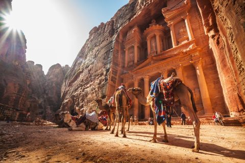 The ancient site of Petra