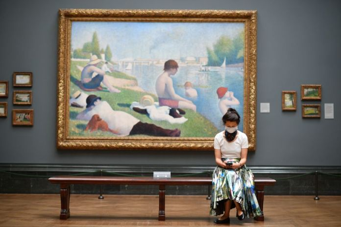 The National Gallery is full of works of art from across the Channel