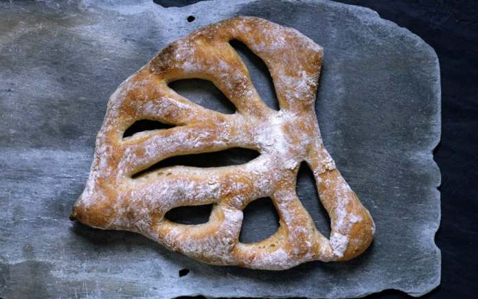 Fougasse is a great choice for crust lovers