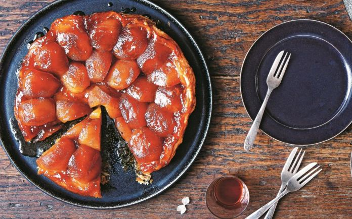 The tarte tatin was first made by a pair of French sisters