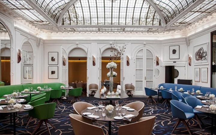 The mood is pleasantly casual, rather than the sometimes off-putting formality of hotel restaurants